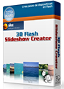 3D Flash Slideshow Creator