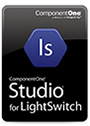 ComponentOne Studio for LightSwitch