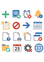 Axialis Pure Flat Stock Icons