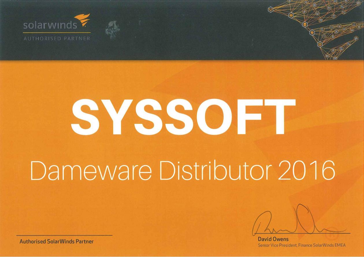 Весь каталог SolarWinds в интернет-магазине Syssoft ru