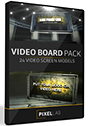The Pixel Lab 3D Video Board Pack
