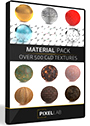The Pixel Lab Material Pack