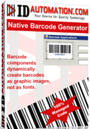 Crystal Reports GS1 DataBar Native Barcode Generator