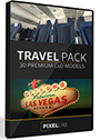 The Pixel Lab 3D Travel Pack