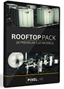 The Pixel Lab 3D Rooftop Pack